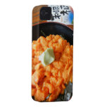 Cuenco del erizo de mar iPhone 4 Case-Mate cárcasas