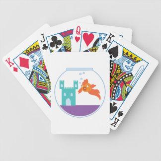 Cuenco del Goldfish Baraja Cartas De Poker