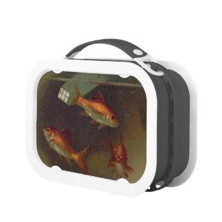 Cuenco del Goldfish del vintage