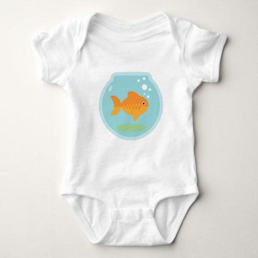Cuenco del Goldfish T Shirt