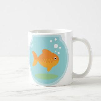 Cuenco del Goldfish Taza