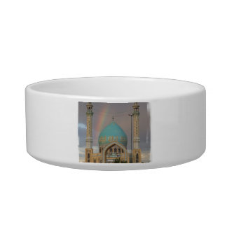 Cuenco del mascota de la mezquita tazones para agua para gatos