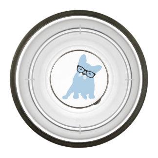 Cuenco del mascota del dogo francés cuenco para mascotas