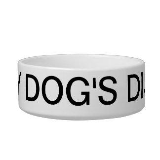 Cuenco del mascota del plato de mi perro de Lorett Comedero Para Mascota