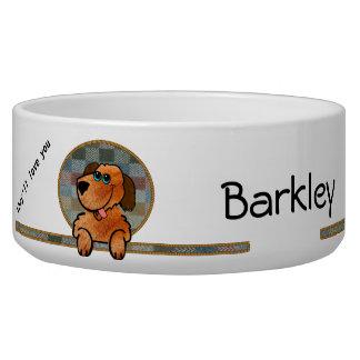 Cuenco del perro de Barkley Comedero Para Mascota