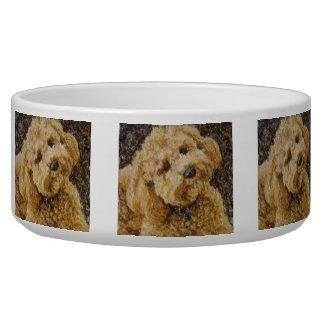 Cuenco del perro de Labradoodle Tazones Para Perro