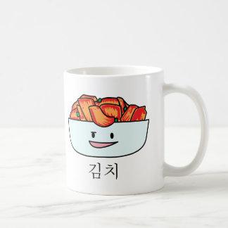 Cuenco feliz de Kimchi Kimchee - diseños felices Taza Clásica