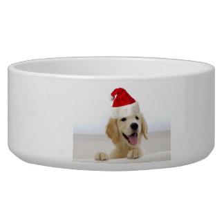 Cuenco grande del mascota del navidad del perrito comedero para mascota