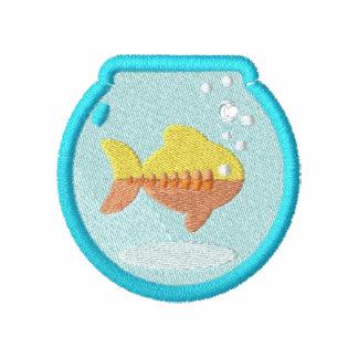 Cuenco lindo de los pescados del Goldfish pequeño