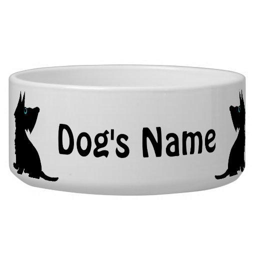 Cuenco para los perros de Scotty Tazon Para Perro
