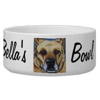 Cuenco personalizado del alimento para animales tazones para perro