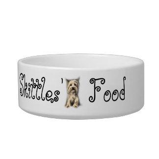 Cuenco personalizado del perro comedero para mascota
