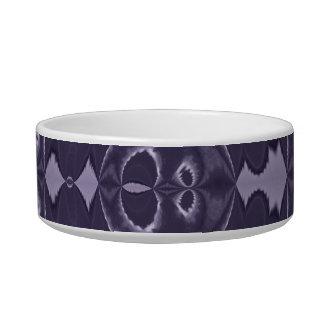 Cuenco púrpura del mascota comedero para mascota