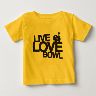 Cuenco vivo el | del amor que rueda t shirts