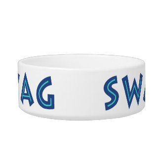 Cuencos de encargo del mascota del SWAG Comedero Para Mascota