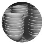 Cuencos de la cerámica platos de comidas