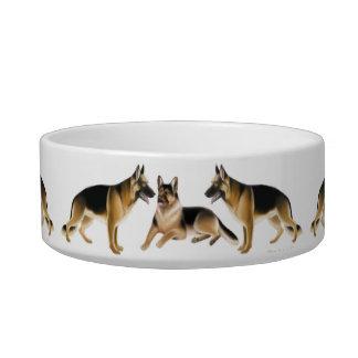 Cuencos del mascota de los perros de pastor alemán comedero para mascota