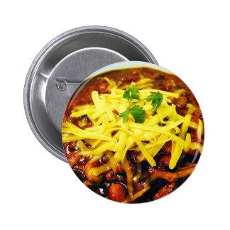 Cuencos del queso del chile de la comida pin redondo 5 cm