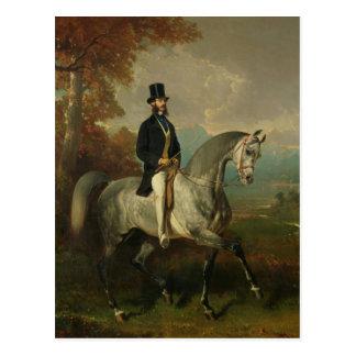 Cuenta Alfred de Montgomery 1850-60 Postal