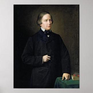 Cuenta de Charles Forbes de Montalembert, 1879 Póster