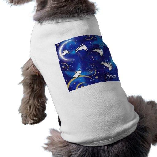Cuenta de conejitos ropa perro