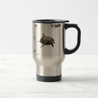 Cuenta de delfínes tazas de café
