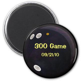 Cuenta de juego perfecto imán redondo 5 cm