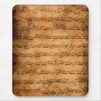 Cuenta de la música - mousepad