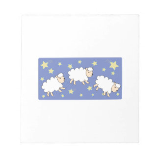 Cuenta de ovejas libretas para notas