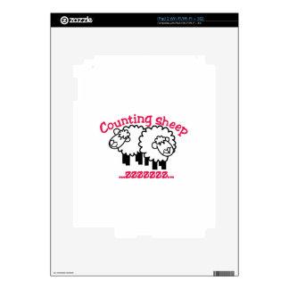 Cuenta de ovejas calcomanía para el iPad 2