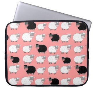 Cuenta de ovejas mangas portátiles
