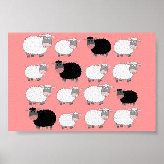 Cuenta de ovejas poster