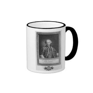 Cuenta de St Germain, alquimista famoso, 1783 Tazas De Café