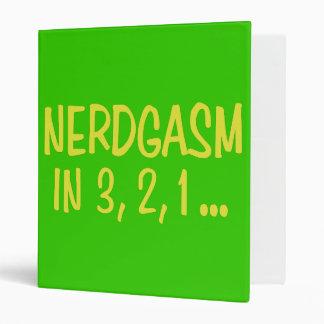 Cuenta descendiente a Nerdgasm - fondo verde