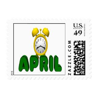 Cuenta descendiente de abril envio