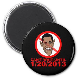 Cuenta descendiente de Barack Hussein Obama Imán De Frigorífico