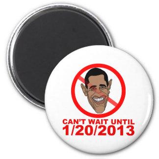 Cuenta descendiente de Barack Hussein Obama Imán Redondo 5 Cm