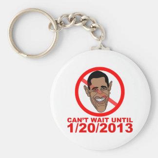 Cuenta descendiente de Barack Hussein Obama Llavero Redondo Tipo Pin