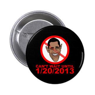 Cuenta descendiente de Barack Hussein Obama Pin