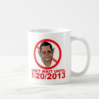 Cuenta descendiente de Barack Hussein Obama Taza De Café