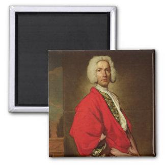 Cuenta Galeatius Secco Suardo c.1710-20 Imán De Frigorífico
