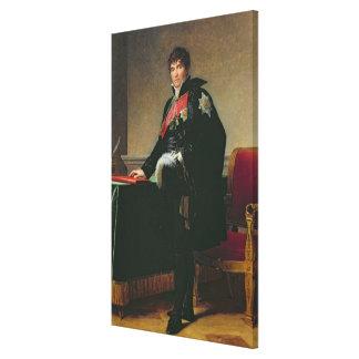Cuenta Miguel Regnaud de Santo-Jean-d'Angely Lienzo Envuelto Para Galerías