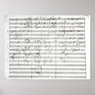 Cuenta para el 3ro movimiento de la 5ta sinfonía impresiones