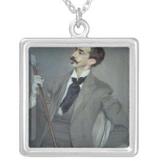 Cuenta Robert de Montesquiou 1897 Colgante Cuadrado