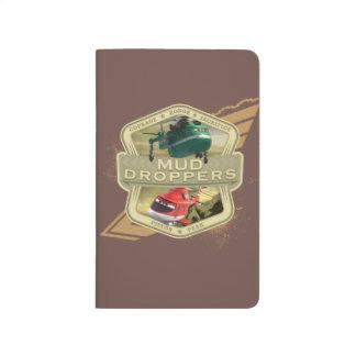 Cuentagotas del fango cuadernos grapados