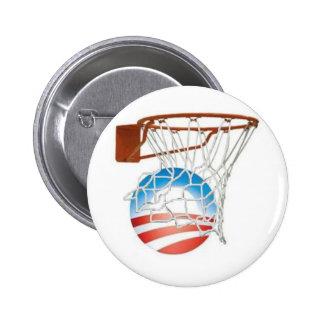 ¡Cuentas de Barack Obama en 2012! Pin Redondo 5 Cm