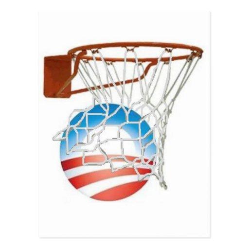¡Cuentas de Barack Obama en 2012! Tarjeta Postal