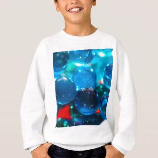 Cuentas de cristal azules Shinning Sudadera