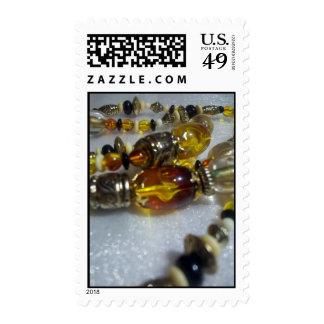 Cuentas de cristal sellos