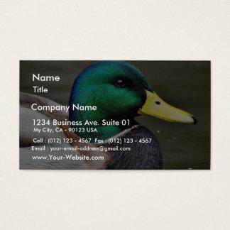 Cuentas de los patos tarjetas de visita